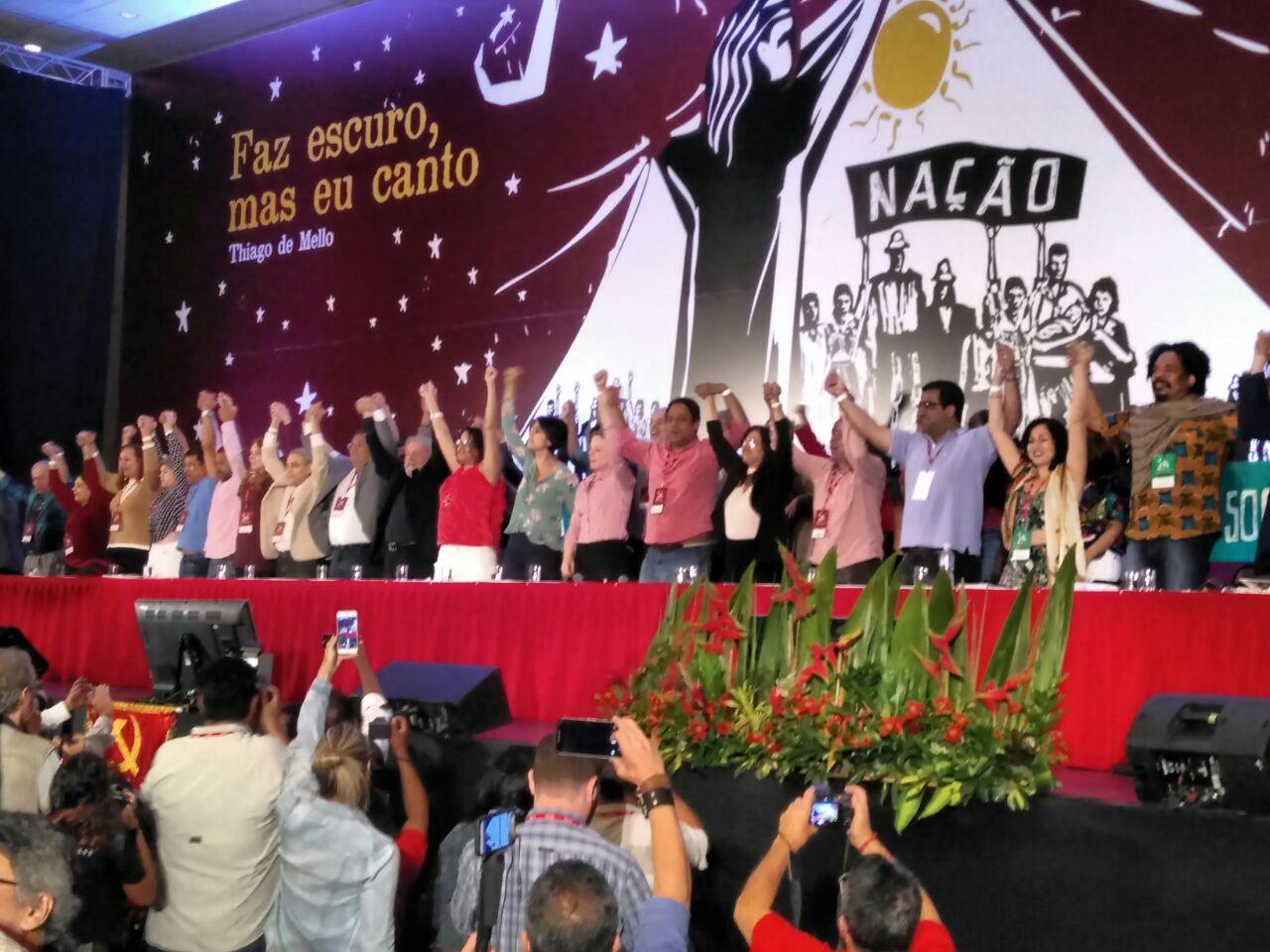 PCdoB elege nova direção e reconduz Luciana Santos à presidência
