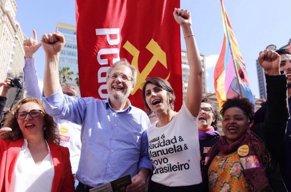 """a41dc33e8ad6a Manuela  """"As pessoas querem Lula para que o Brasil volte ao povo ..."""